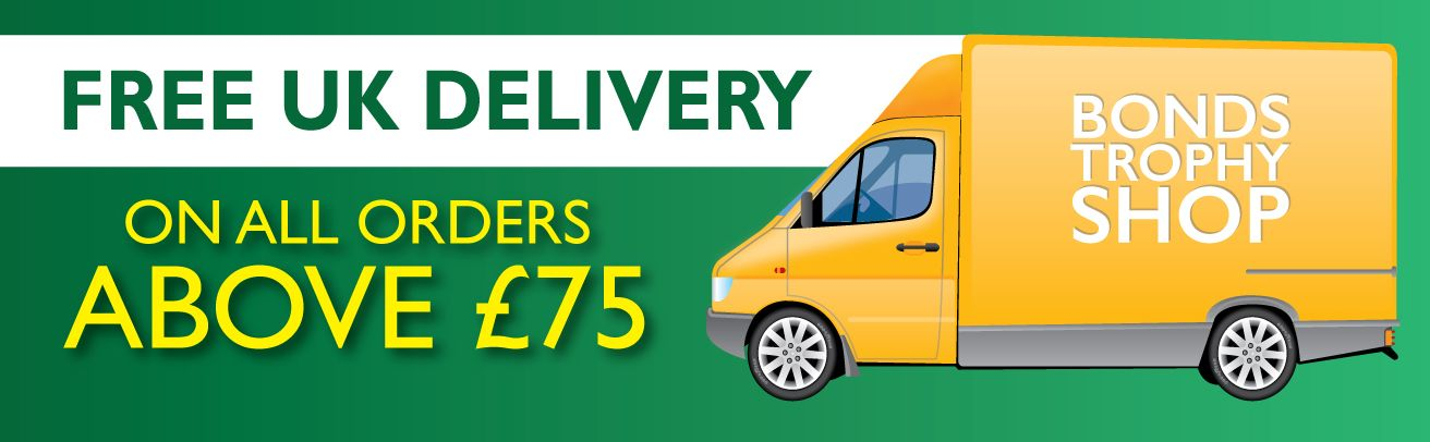 free uk delivery on orders over £75 banner